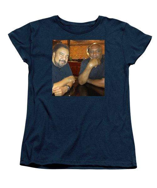 A Friend Mr. George Duke Women's T-Shirt (Standard Cut) by Paul SEQUENCE Ferguson             sequence dot net