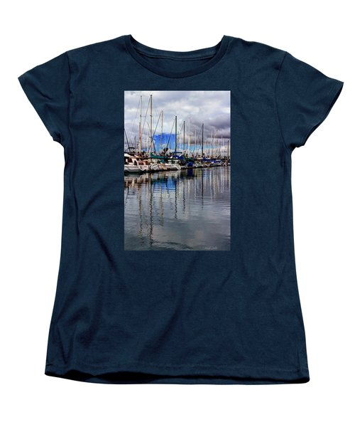 Women's T-Shirt (Standard Cut) featuring the photograph A Hint Of Blue by Heidi Smith