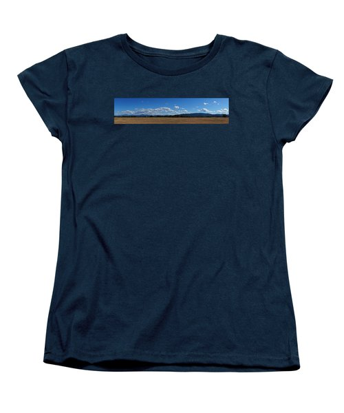 A June Panorama In Southern Oregon Women's T-Shirt (Standard Cut) by Mick Anderson