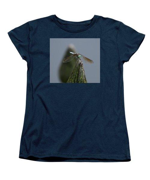 A Launch Pad Women's T-Shirt (Standard Cut) by Yvonne Wright