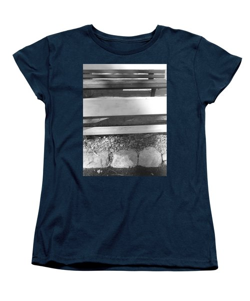 Women's T-Shirt (Standard Cut) featuring the photograph A Layered  Reconstruction by Esther Newman-Cohen