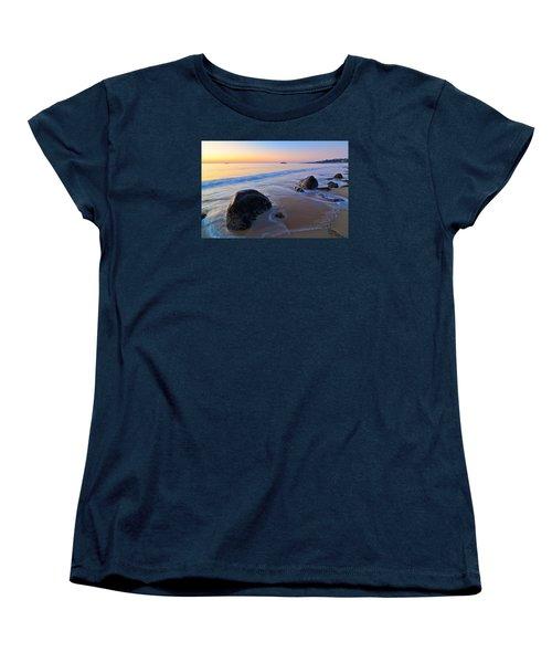 A New Day Singing Beach Women's T-Shirt (Standard Cut) by Michael Hubley
