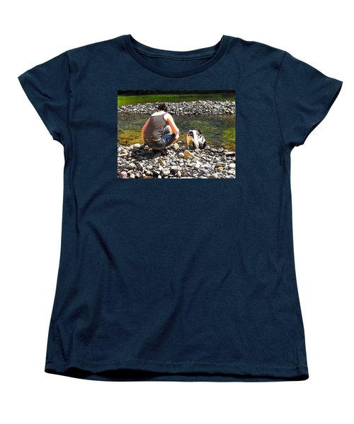 Women's T-Shirt (Standard Cut) featuring the photograph A Perfect Day by Micki Findlay