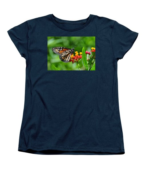 A Place To Settle Down Women's T-Shirt (Standard Cut) by Kathy Baccari