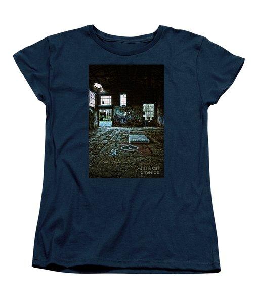 Women's T-Shirt (Standard Cut) featuring the photograph A Place With Heart by Debra Fedchin