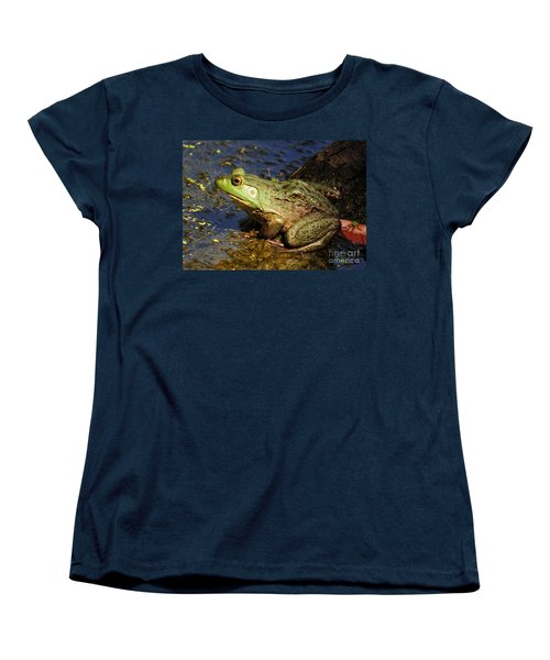 A Prince Of A Frog Women's T-Shirt (Standard Cut) by Kathy Baccari