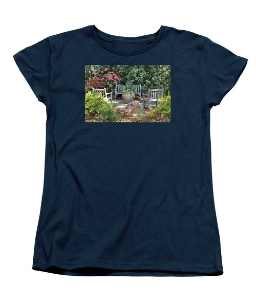 A Quiet Place To Meet Women's T-Shirt (Standard Cut)