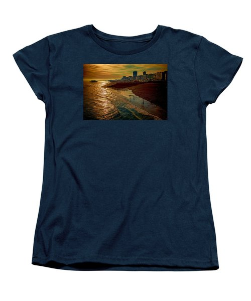 Women's T-Shirt (Standard Cut) featuring the photograph A September Evening In Brighton by Chris Lord