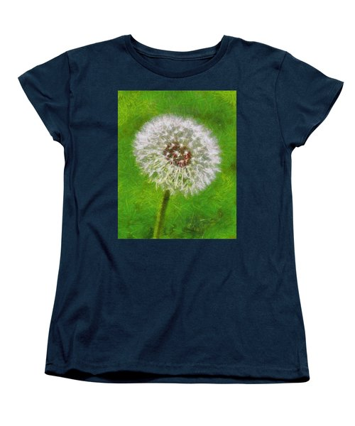 Women's T-Shirt (Standard Cut) featuring the painting A Simple Beauty by Joe Misrasi