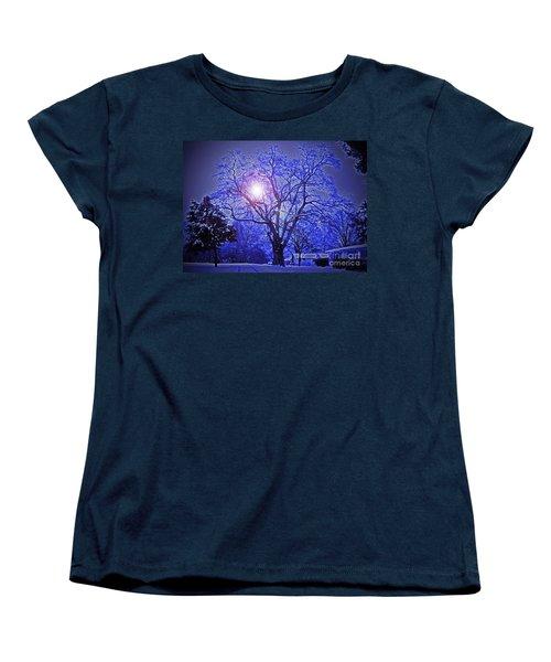 A Snow Glow Evening Women's T-Shirt (Standard Cut)