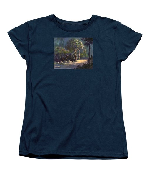 Women's T-Shirt (Standard Cut) featuring the painting A Special Place by Michael Humphries