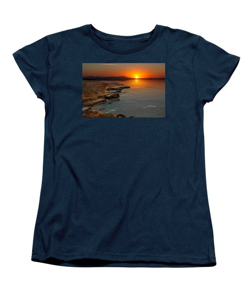 A Sunset Women's T-Shirt (Standard Cut) by Lynn Geoffroy