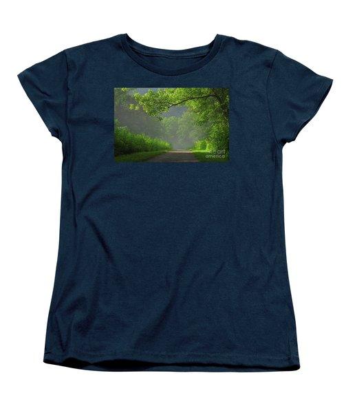 A Touch Of Green II Women's T-Shirt (Standard Cut)