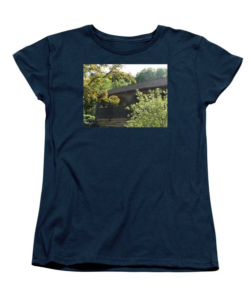 Women's T-Shirt (Standard Cut) featuring the photograph A Walk In The Park by Tiffany Erdman