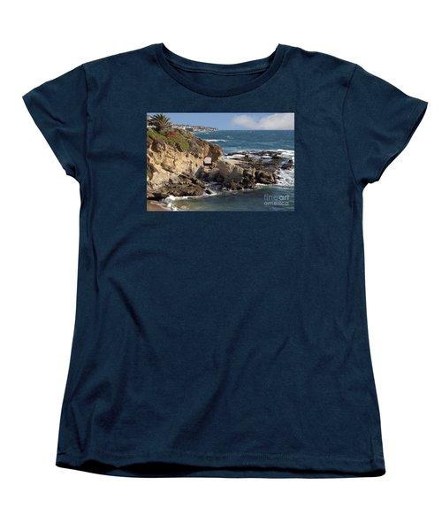 A Walk Through The Rocks Women's T-Shirt (Standard Cut) by Loriannah Hespe