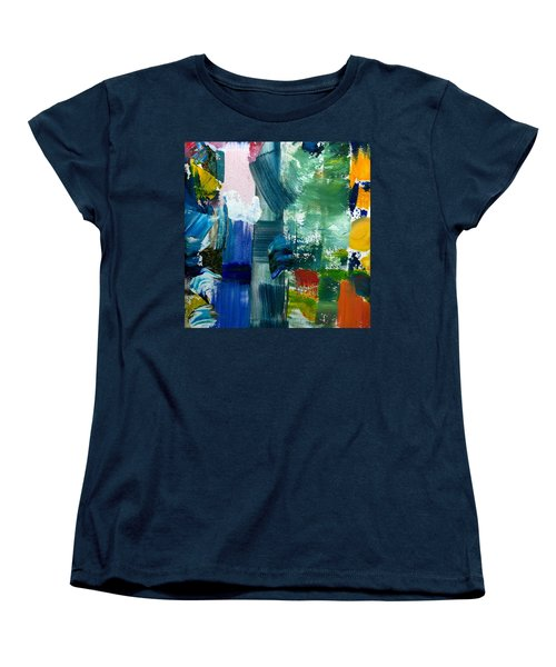 Abstract Color Relationships Lll Women's T-Shirt (Standard Cut) by Michelle Calkins