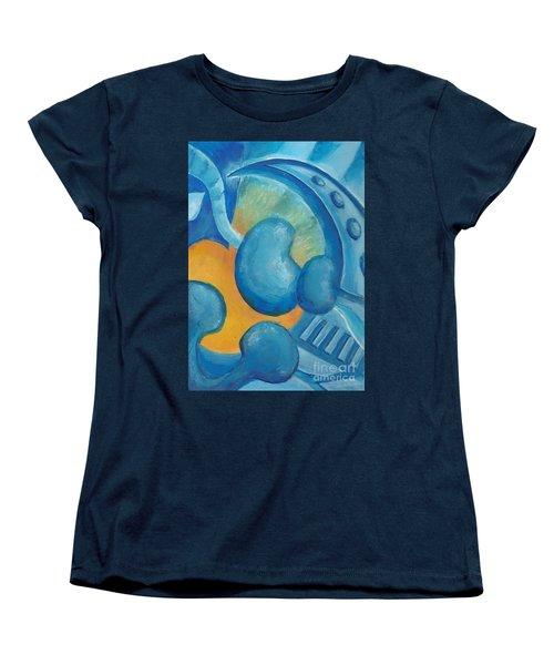 Abstract Color Study Women's T-Shirt (Standard Cut) by Samantha Geernaert