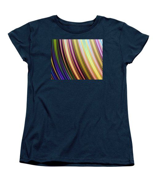 Abstract Colours Women's T-Shirt (Standard Cut) by Ester  Rogers