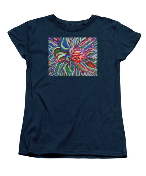 Abstract Flower Women's T-Shirt (Standard Cut)