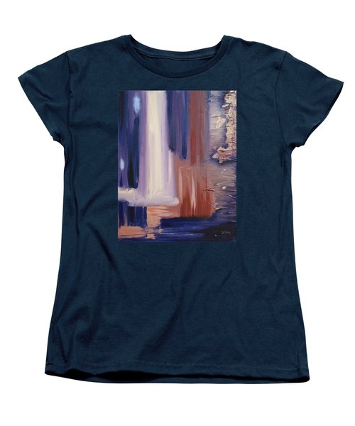 Women's T-Shirt (Standard Cut) featuring the painting Abstract I by Donna Tuten