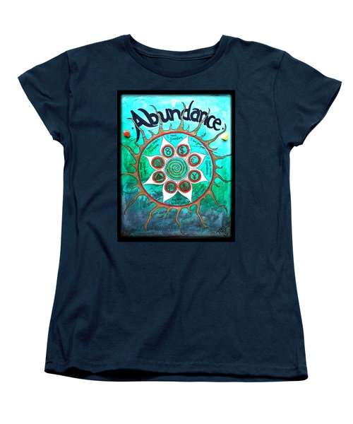 Abundance Money Magnet - Healing Art Women's T-Shirt (Standard Cut) by Absinthe Art By Michelle LeAnn Scott