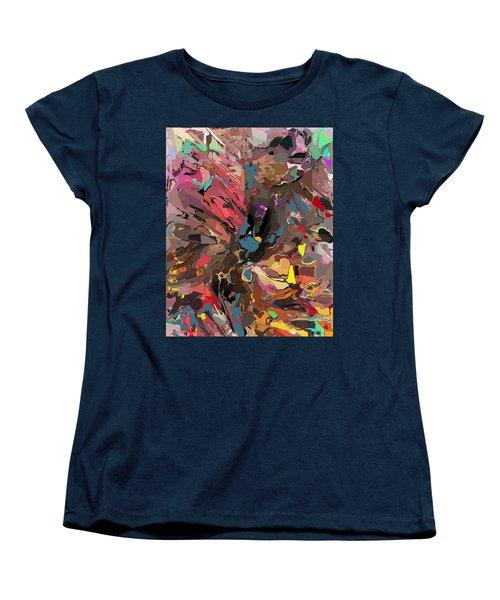 Women's T-Shirt (Standard Cut) featuring the digital art Abyss 2 by David Lane