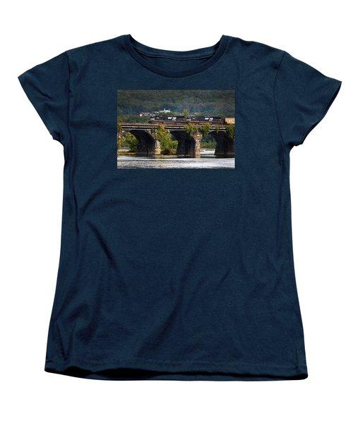 Across The Rockville Women's T-Shirt (Standard Cut) by Paul W Faust -  Impressions of Light
