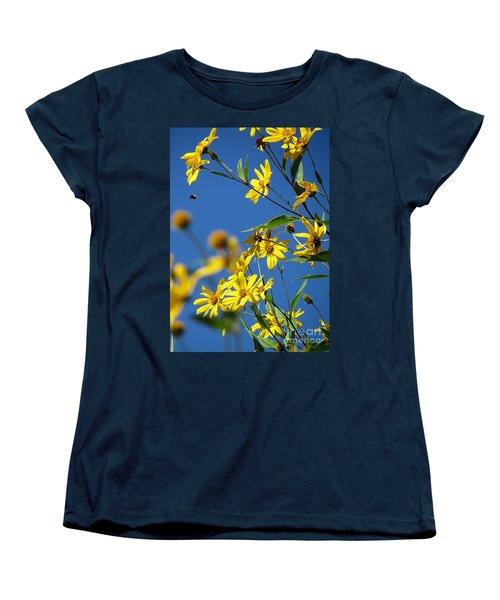 Action Women's T-Shirt (Standard Cut) by France Laliberte