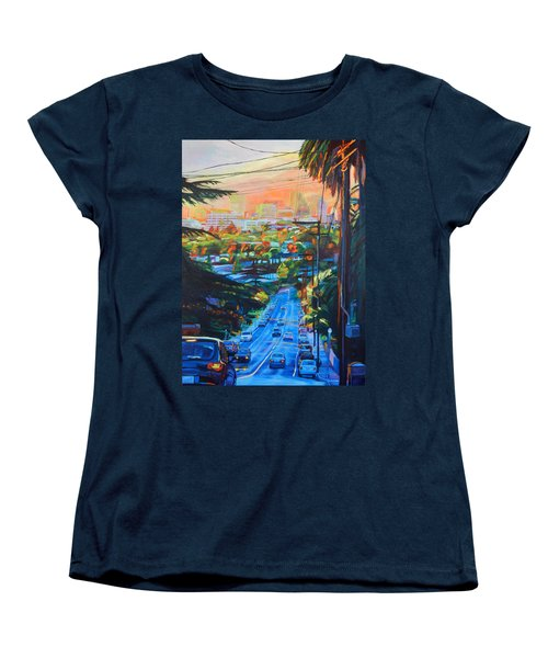 Towards The Light Women's T-Shirt (Standard Cut) by Bonnie Lambert