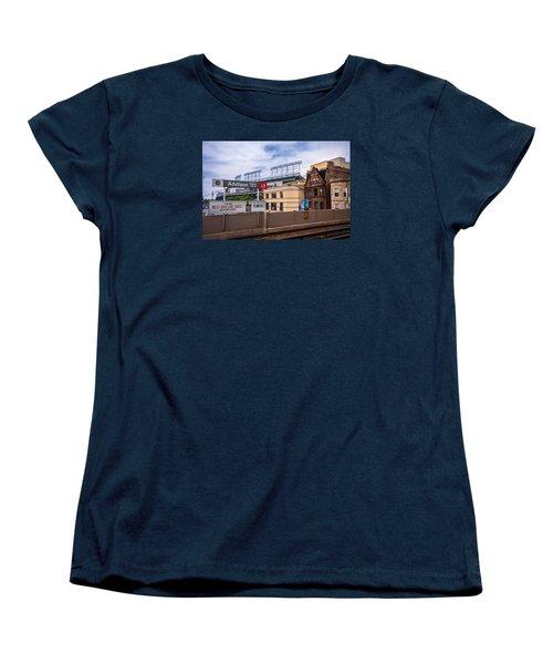 Addison Street Station Women's T-Shirt (Standard Cut) by Tom Gort