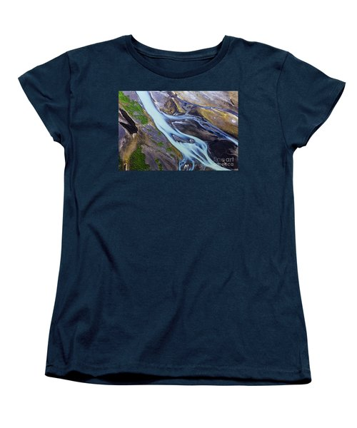 Aerial Photo Of Iceland  Women's T-Shirt (Standard Cut) by Gunnar Orn Arnason