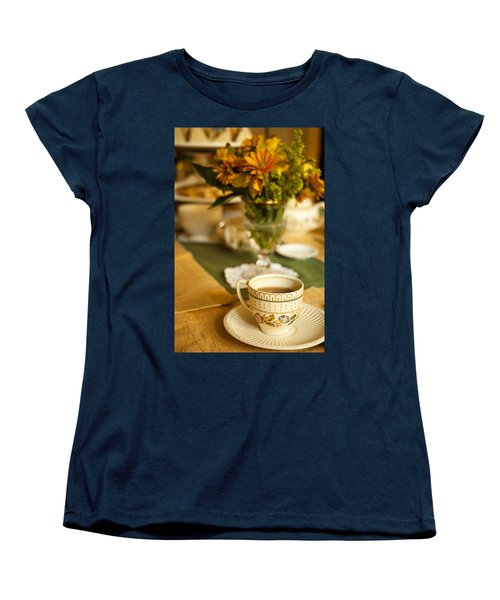 Women's T-Shirt (Standard Cut) featuring the photograph Afternoon Tea Time by Andrew Soundarajan