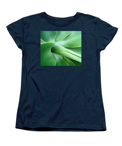 Women's T-Shirt (Standard Cut) featuring the photograph Agave Heart by Peter Mooyman