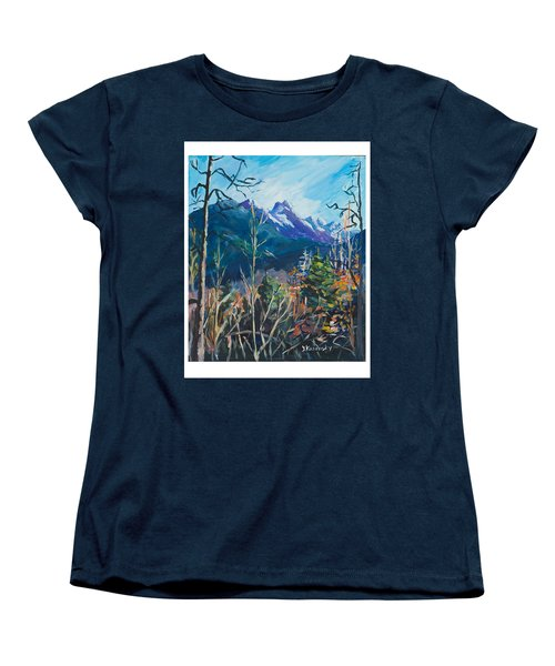 Alaska Autumn Women's T-Shirt (Standard Cut) by Yulia Kazansky