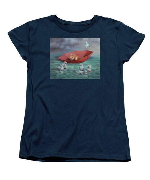 All At Sea Women's T-Shirt (Standard Cut) by Cynthia House
