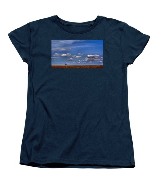 All By Myself Women's T-Shirt (Standard Cut) by Steven Reed