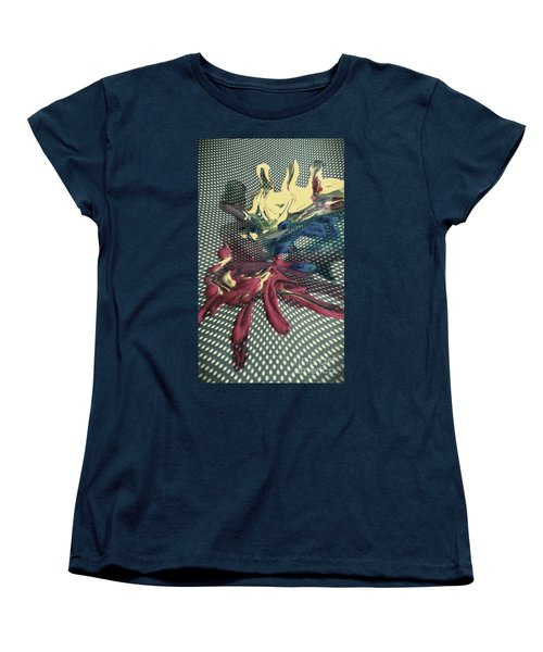 Women's T-Shirt (Standard Cut) featuring the painting All In by Jacqueline McReynolds