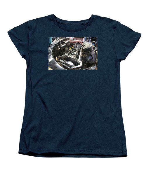 All In The Timing Women's T-Shirt (Standard Cut) by David S Reynolds