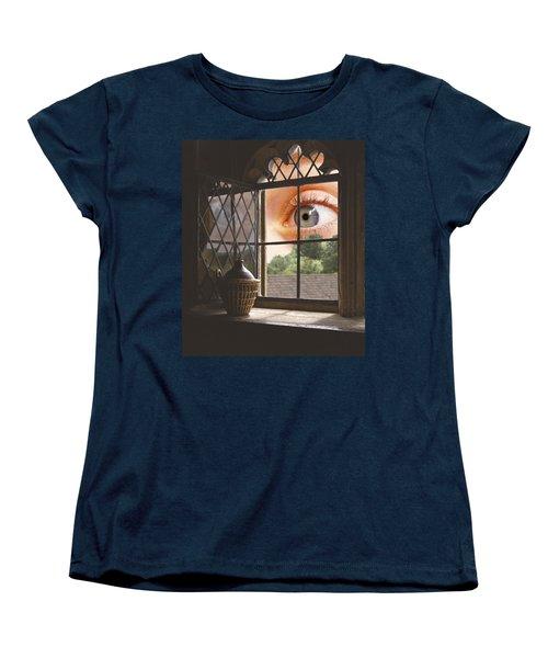 All Seeing Women's T-Shirt (Standard Cut) by Ron Harpham