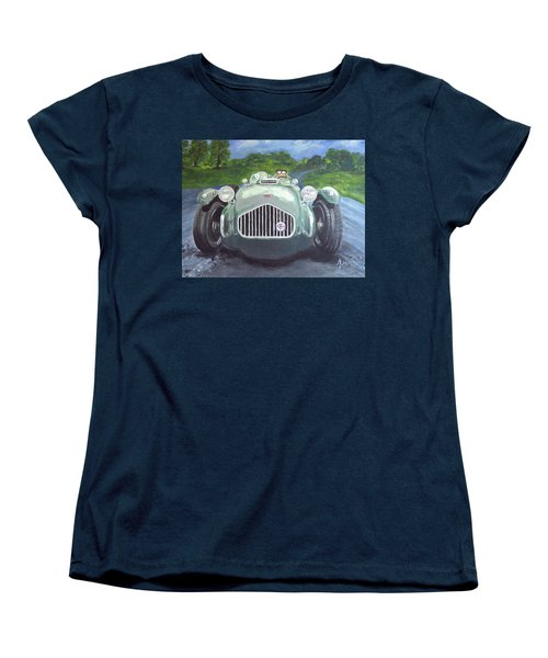 Allard J2x Women's T-Shirt (Standard Cut) by Anna Ruzsan