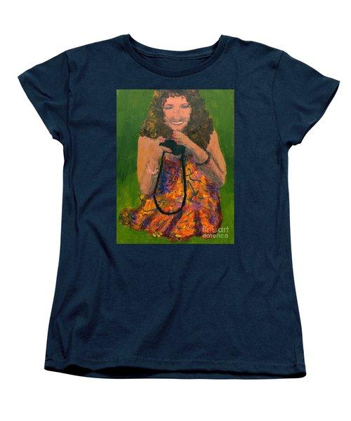 Allison Women's T-Shirt (Standard Cut) by Donald J Ryker III