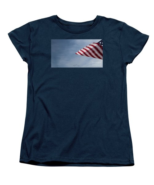 Women's T-Shirt (Standard Cut) featuring the photograph Almost Home by Angela DeFrias