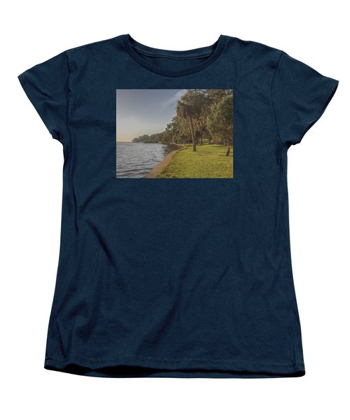 Women's T-Shirt (Standard Cut) featuring the photograph Along The Wall by Jane Luxton