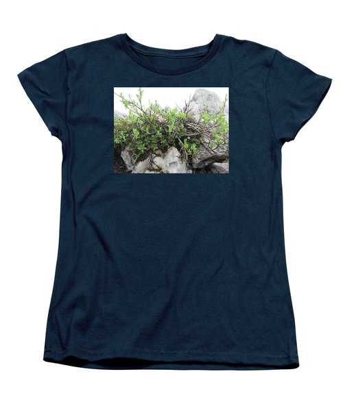 Women's T-Shirt (Standard Cut) featuring the photograph Alpine Beauty by Pema Hou