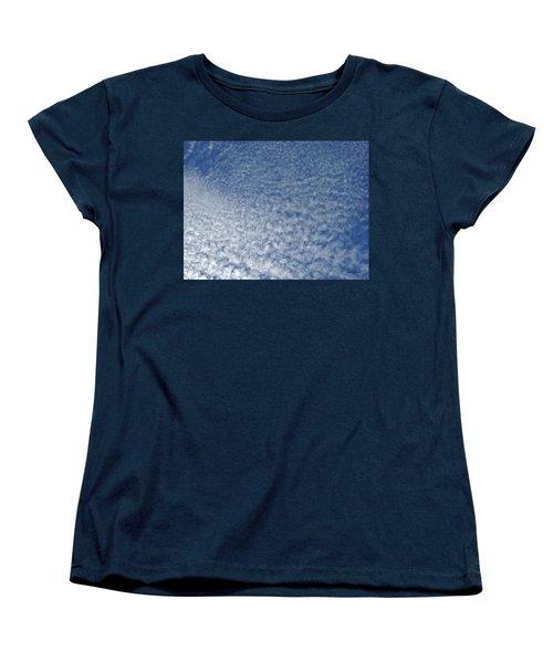 Women's T-Shirt (Standard Cut) featuring the photograph Altocumulus Clouds by Jason Williamson