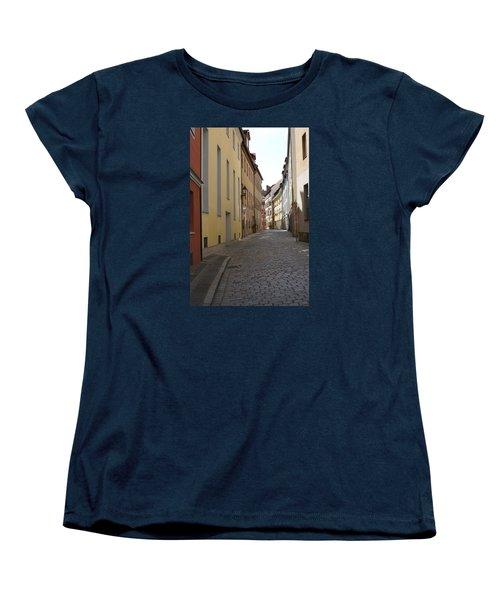 Women's T-Shirt (Standard Cut) featuring the photograph Altstadt Nuernberg by Heidi Poulin