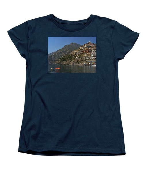 Women's T-Shirt (Standard Cut) featuring the photograph Amalfi View by Andrew Soundarajan