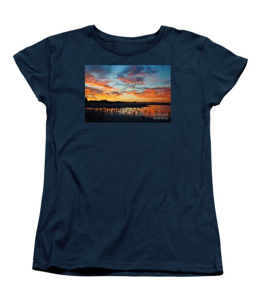 Women's T-Shirt (Standard Cut) featuring the photograph Amazing Grace On Siesta Key by Margie Amberge