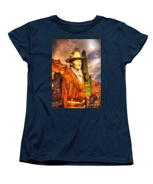 American Cinema Icons - The Duke Women's T-Shirt (Standard Cut) by Dan Stone