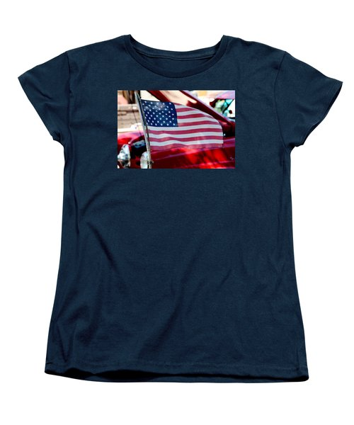 American Dream Women's T-Shirt (Standard Cut) by Toni Hopper